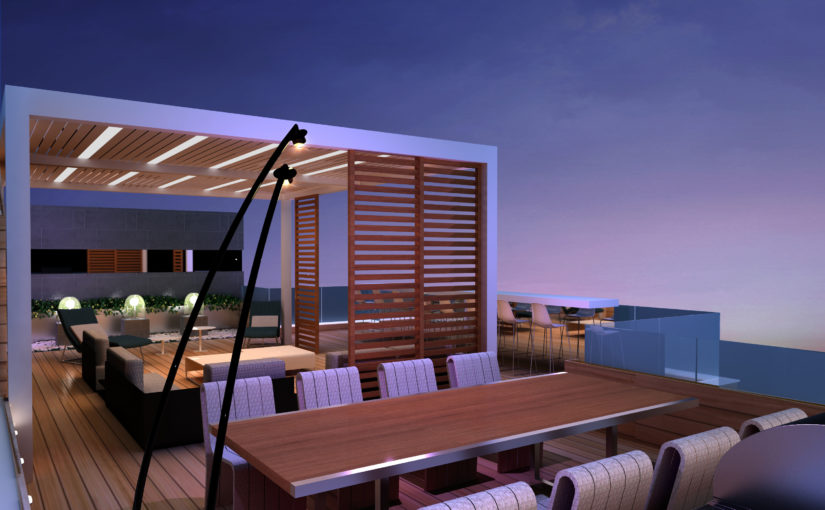 Rooftop Outdoor Terrace